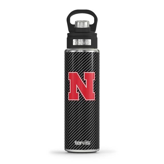 Nebraska Cornhuskers Carbon Fiber