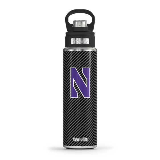 Northwestern Wildcats Carbon Fiber