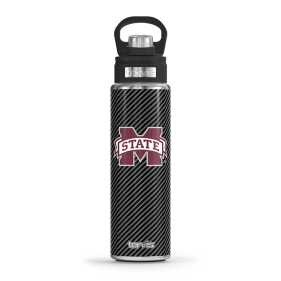 Mississippi State Bulldogs Carbon Fiber