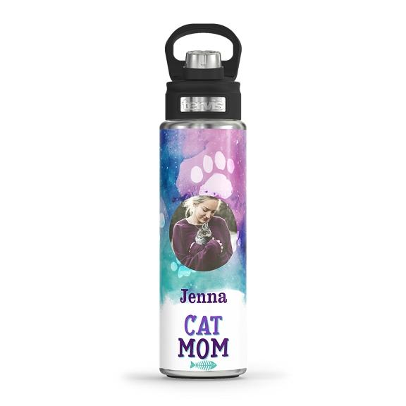 Cat Mom - Paw Prints