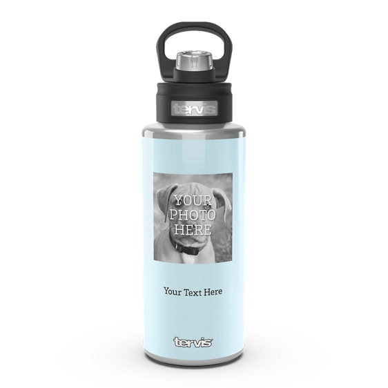 Custom 32oz Stainless Wide Mouth Bottle