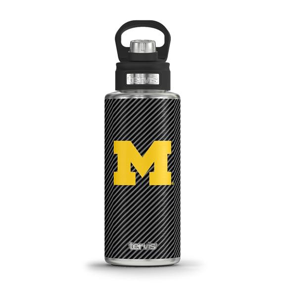 Michigan Wolverines Carbon Fiber