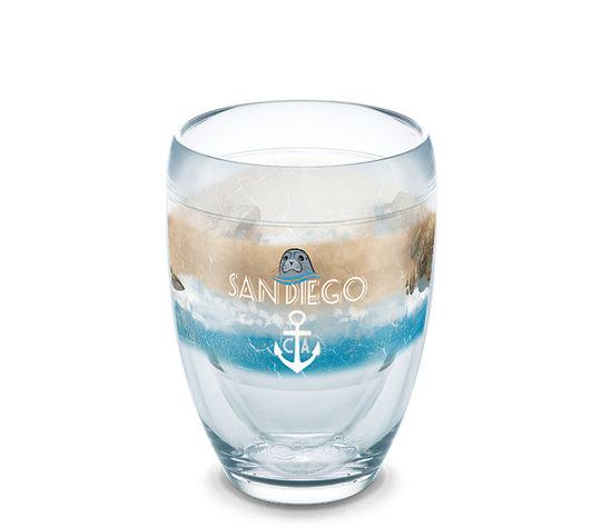 California - Nautical Flag San Diego