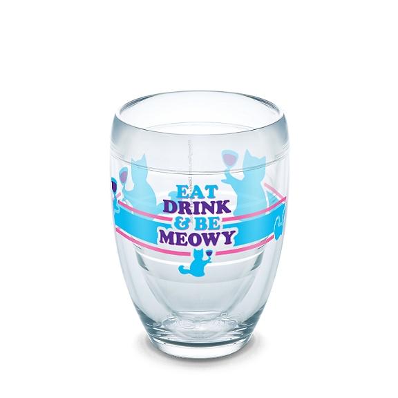 Snorg Tees - Eat Drink Meowy